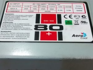 AeroCool E80-500