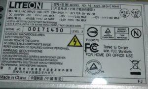 LiteOn PS-5221-06